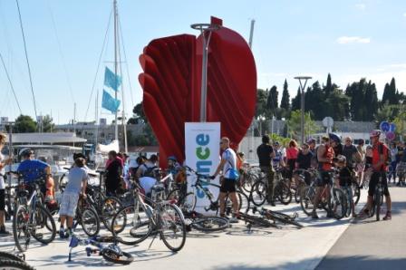 Sunce biciklijadom obilježilo Europski dan bez automobila 2013.