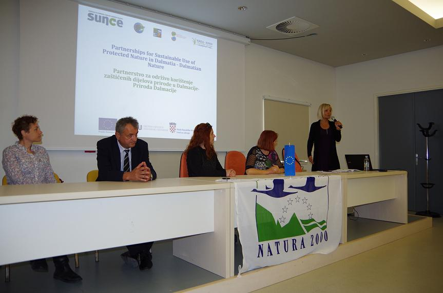 "Ceremony regarding the beginning of the project ""Dalmatian Nature"""