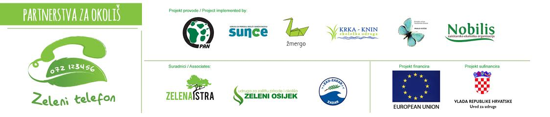 1263 applications from citizens on Green Telephones of Croatia!