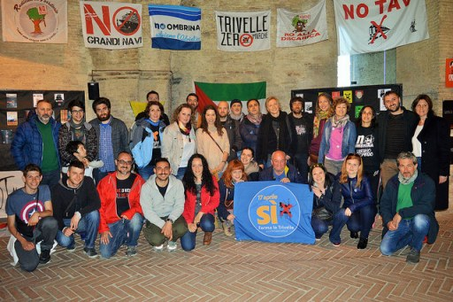 Coalition 'One Adriatic' supported the referendum in Italy against drilling Adriatic