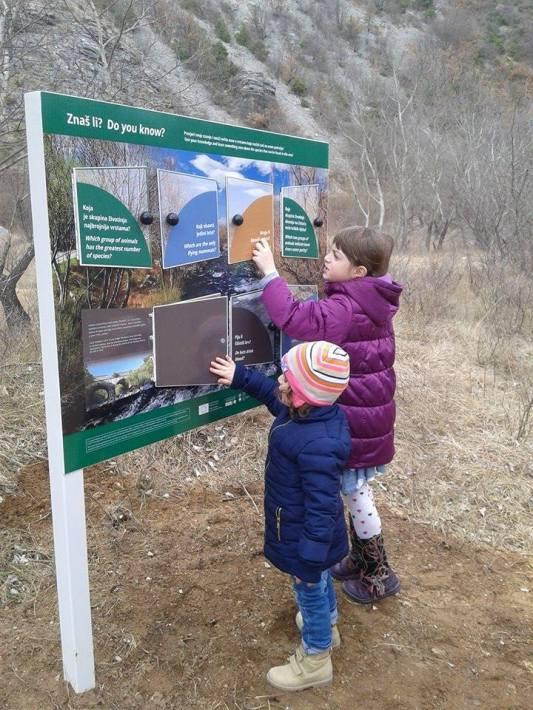 """Educational trail """" Krčić """""""