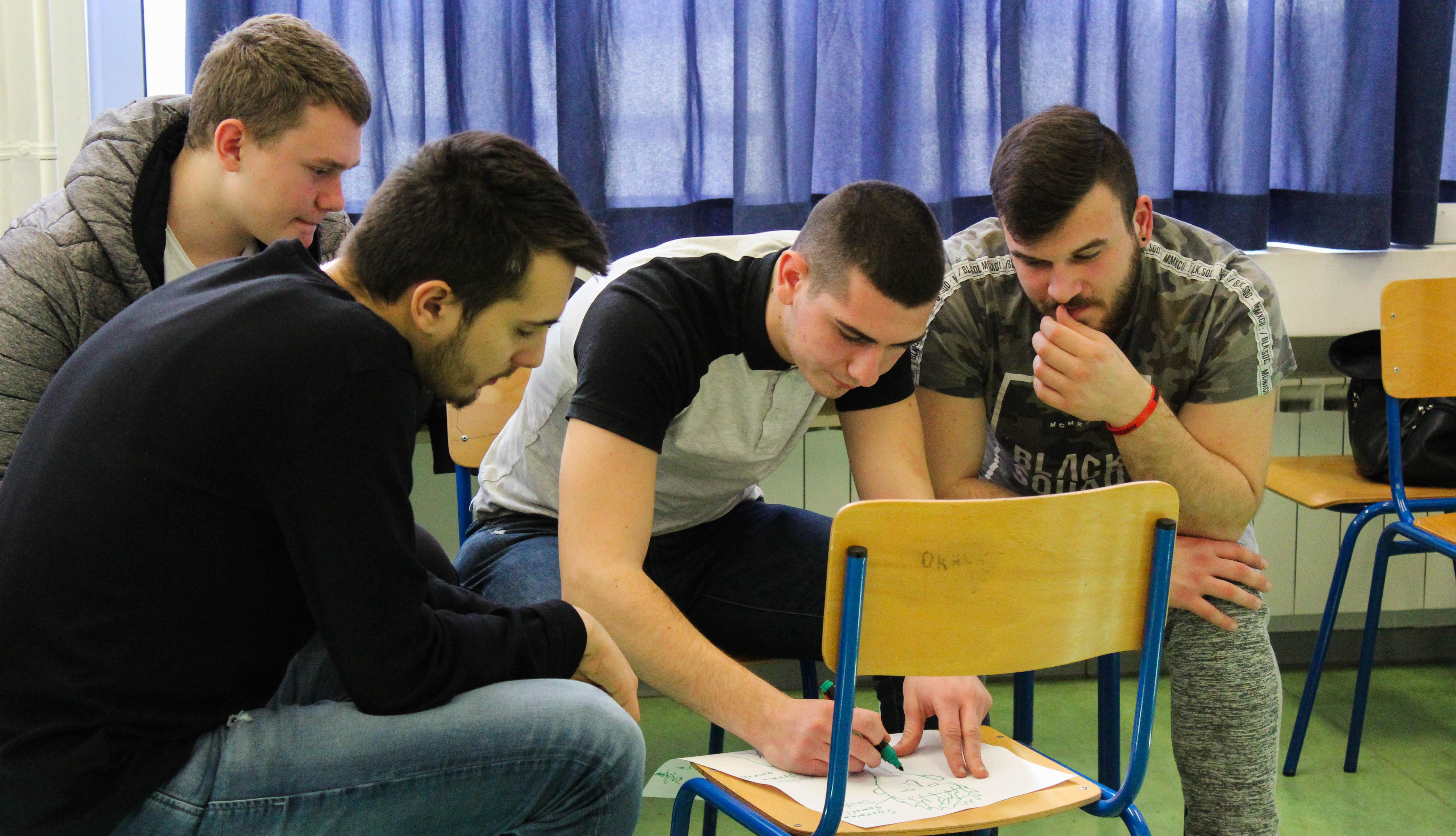 Održali smo prvu radionicu o volontiranju sa učenicima Obrtne tehničke škole Split