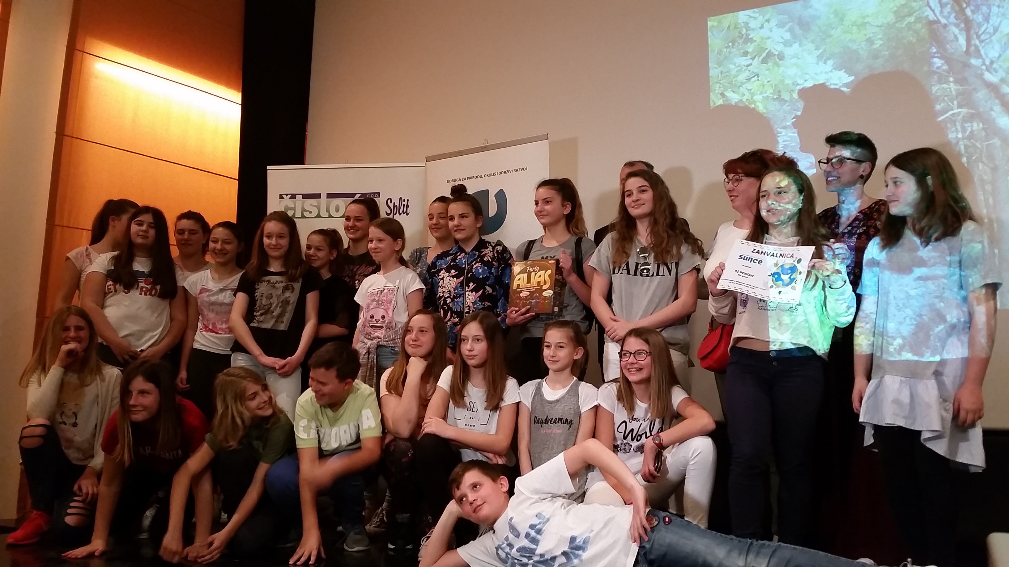Udruga Sunce podijelila je nagrade najboljim učeničkim projektima