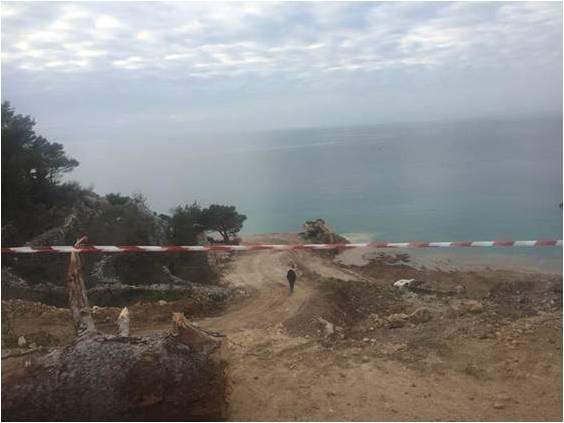 Devastacija obale u sjeni korona-krize