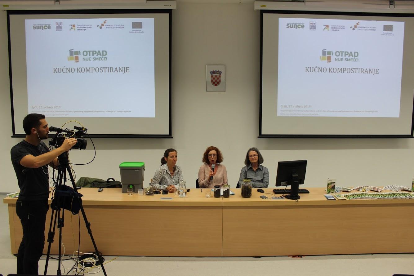 Otpad nije smeće: održana javna tribina o kućnom kompostiranju