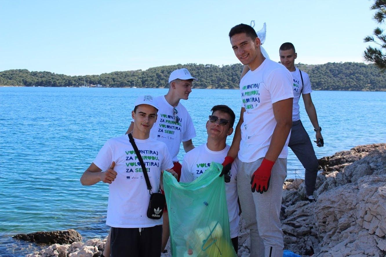 """U akciji """"Morska eko patrola"""" prikupljeno 149 kilograma otpada"""