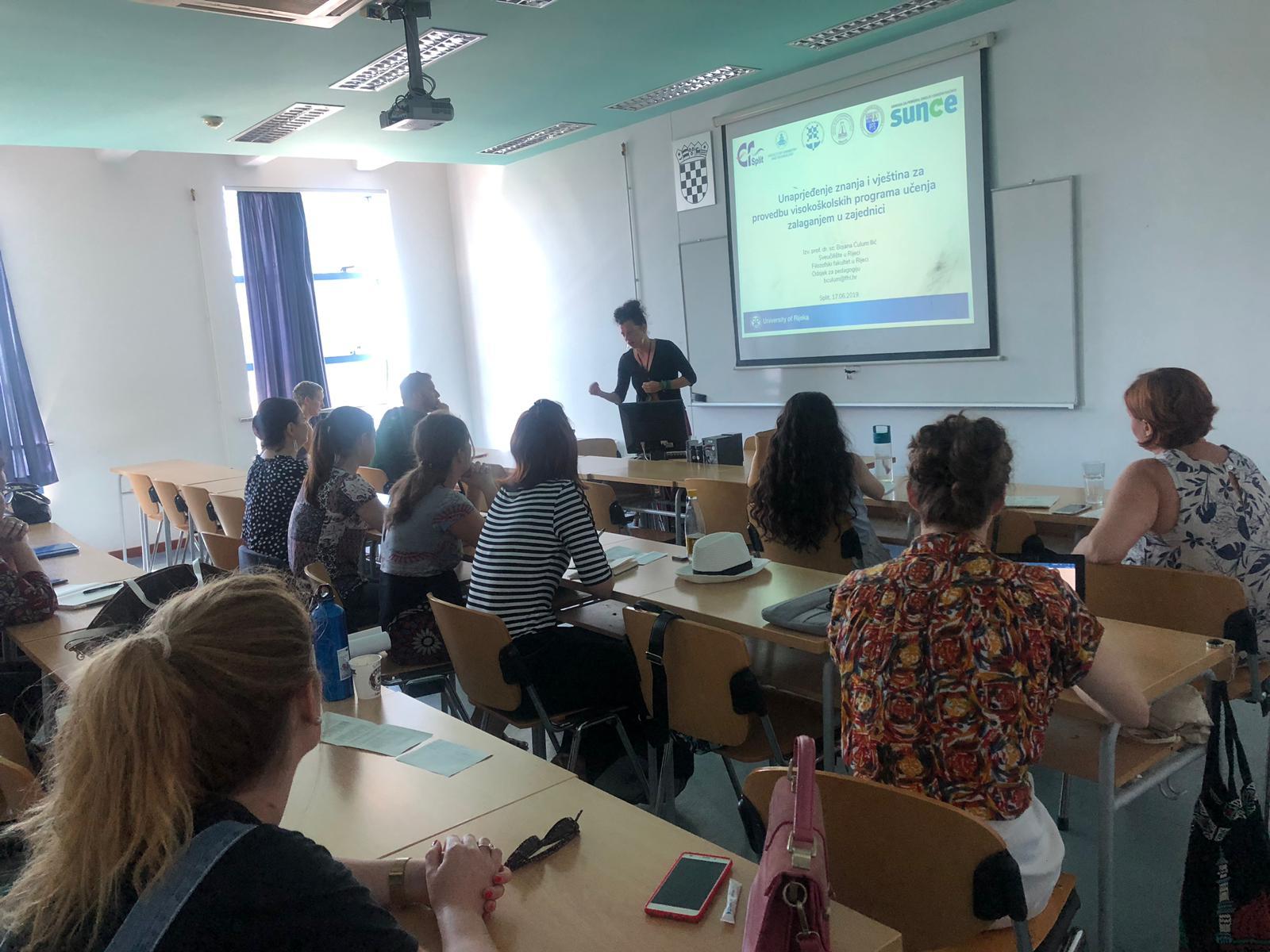 PAZI! projekt: održana još jedna radionica o društveno korisnom učenju