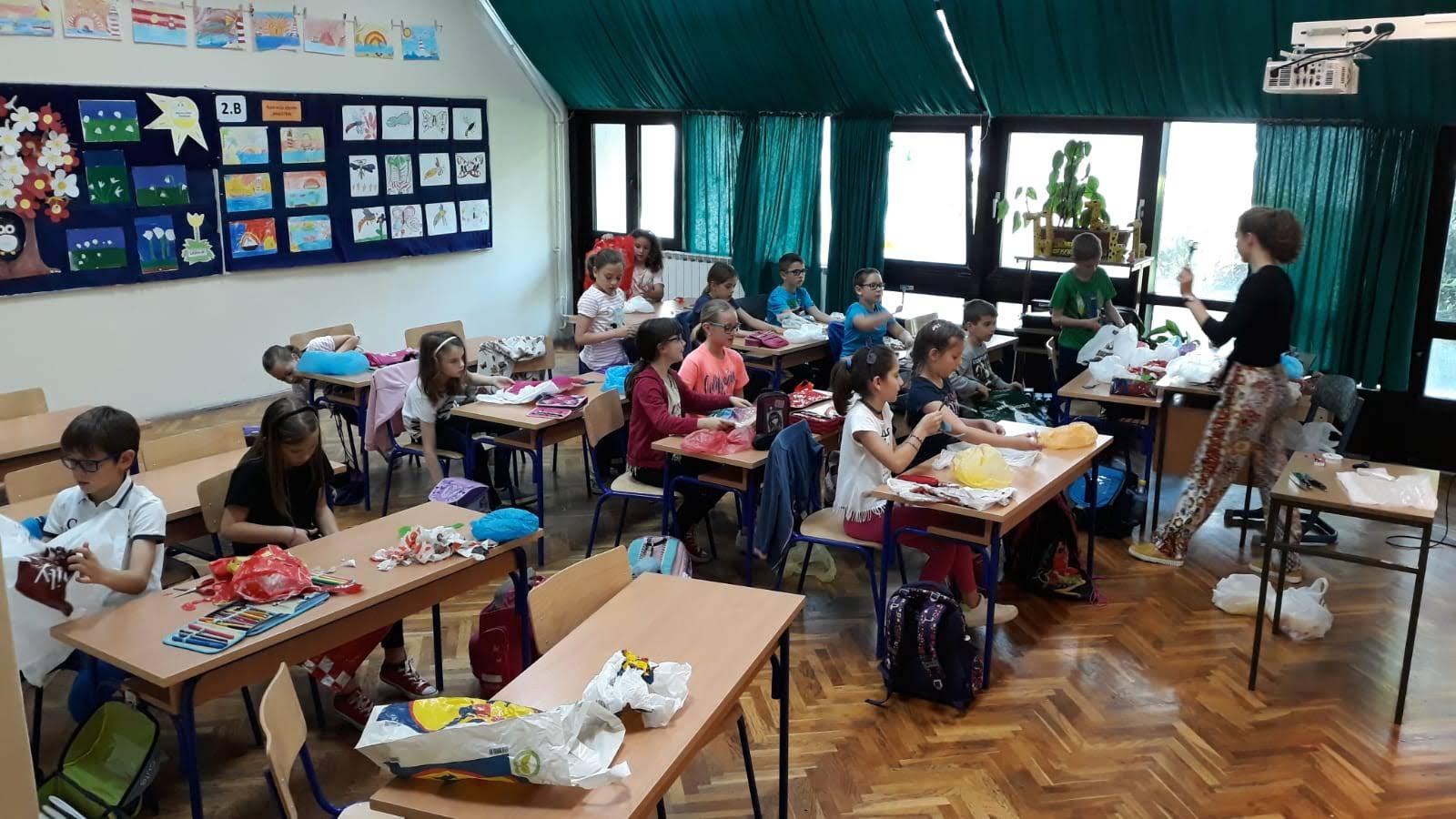 Završen prvi ciklus radionica o odvajanju otpada za djecu i nastavnike