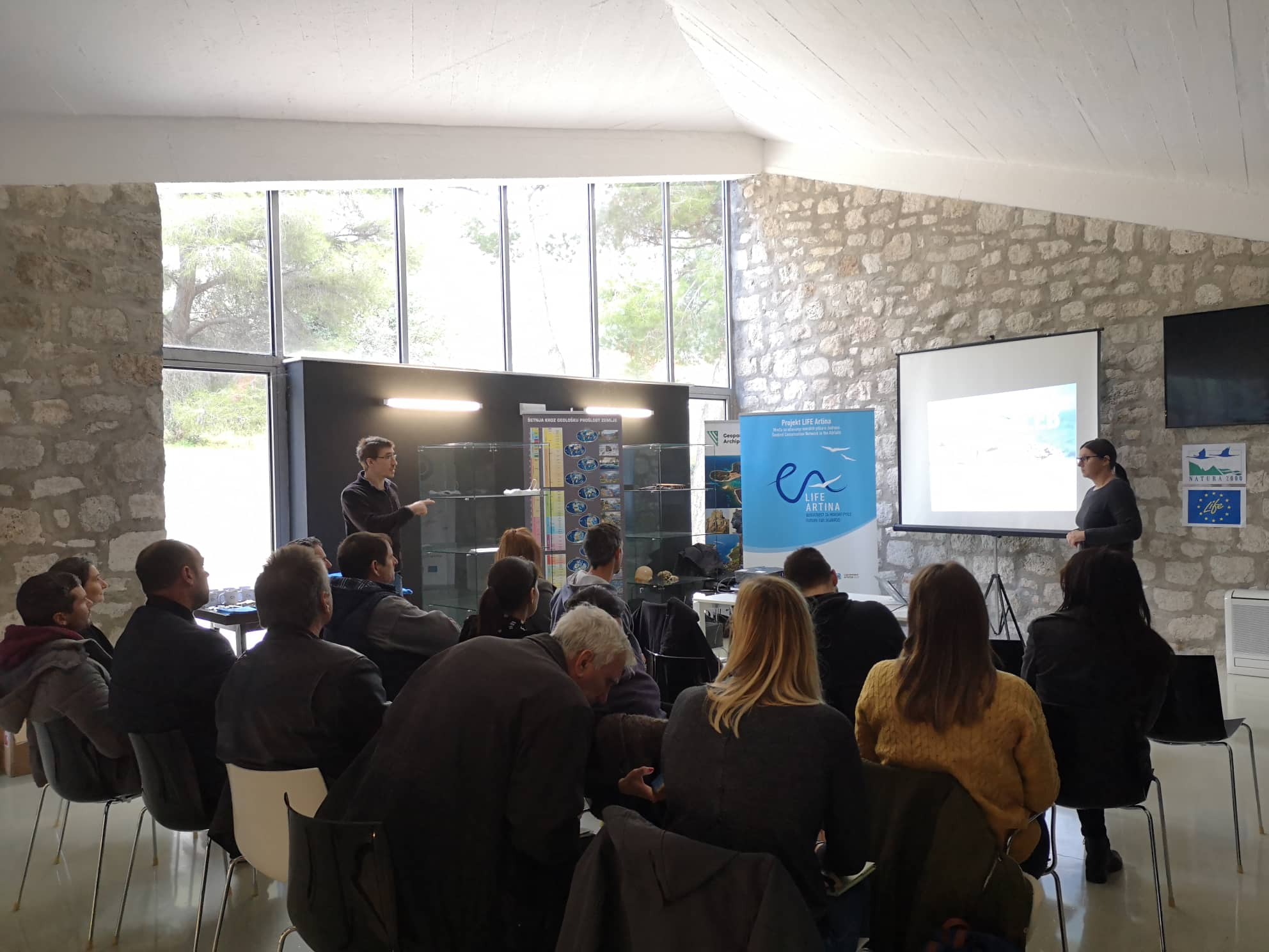 U Komiži predstavljen projekt LIFE Artina – Mreža za očuvanje morskih ptica