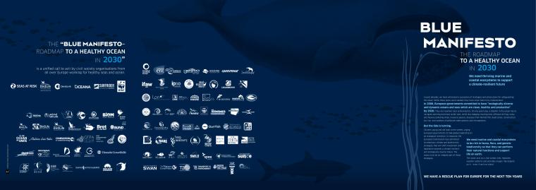 Plavi manifest za spašavanje mora do 2030. godine