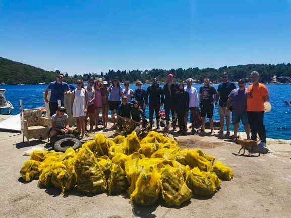 U prvih šest akcija prikupljeno više od 990 kilograma otpada iz mora