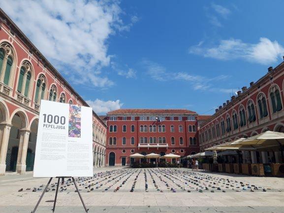 1000 Pepeljuga na Prokurativama u Splitu